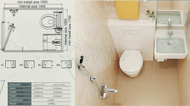 Unit Bathroom BM-1014